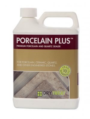 Image of Dry Treat Porcelain Plus sealer for porcelain, quartz countertops