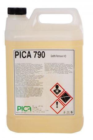 Image of Pica Graffiti Remover, a world renowned professional grade graffiti remover